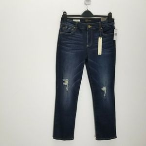 Kut From The Kloth Jeans Reese Ankle Straight Leg